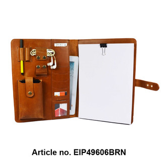 Leather Conference Pad Folder