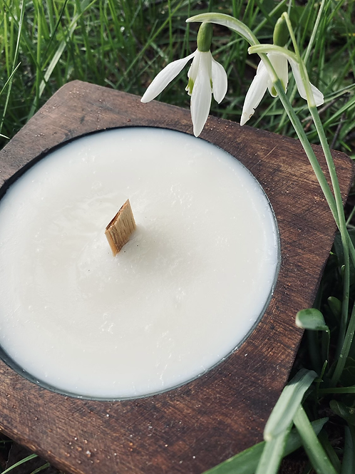 Cheese Mold Artisan Soy Candle - Unscented