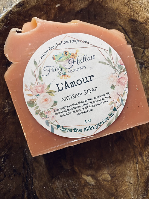 L'Amour Limited Edition Artisan Soap