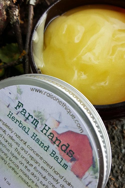 farm hands herbal hand balm