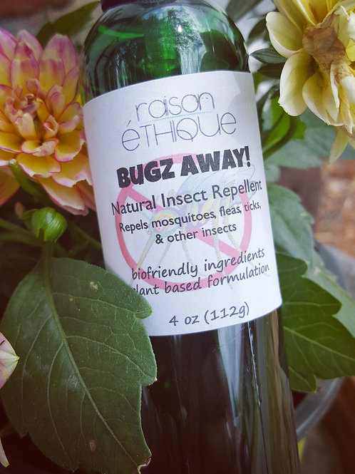 Bugz Away!™ - Natural Insect Repellant