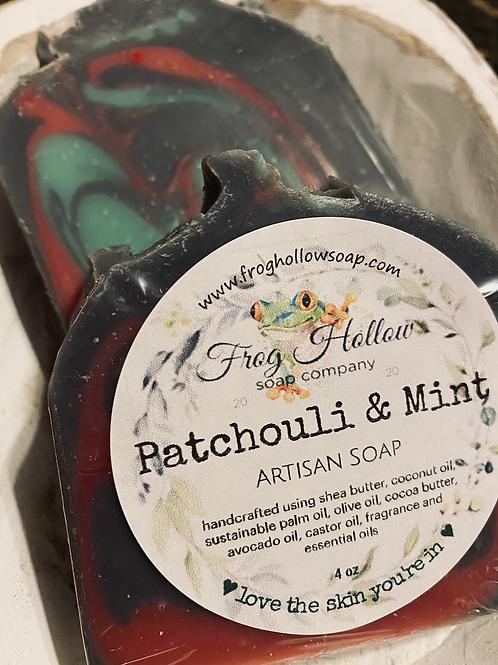Patchouli & Spearmint Limited Edition Artisan Soap