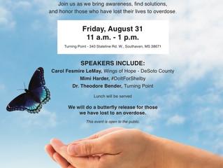 International Overdose Awareness Day 8/31/18