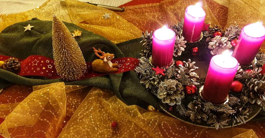 Weihnachtstischdeko Service