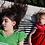 Children on hammock on the floor