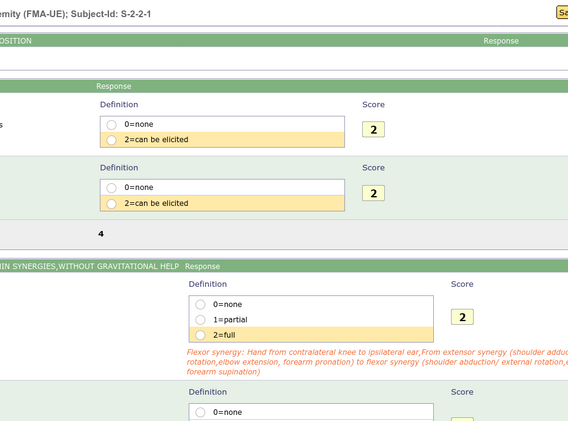 Standard Assessments (2)