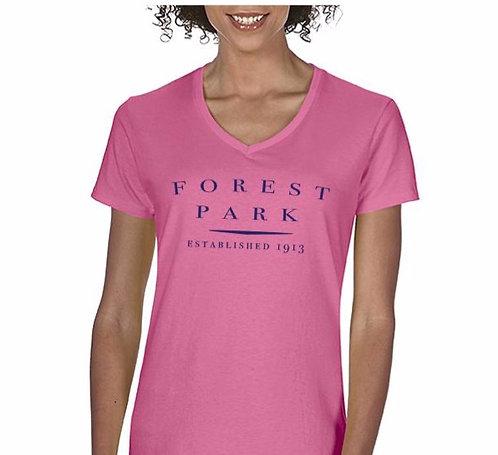 Ladies Vneck Seaside Tshirt