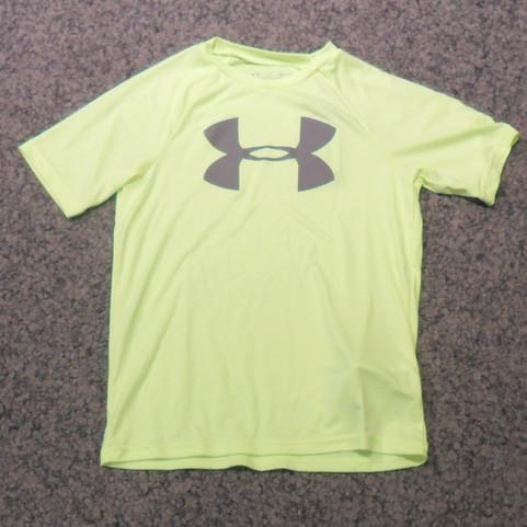 Under Armour Kinder T-Shirt grün2.jpg