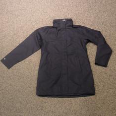 Pro-X Element Damen Regenmantel schwarz.