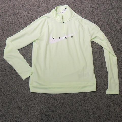 Nike Damen Running Langarm T-Shirt Zip g