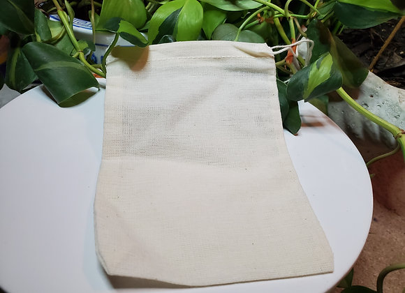 Reusable Cotton Bag, Free with Bath Blend