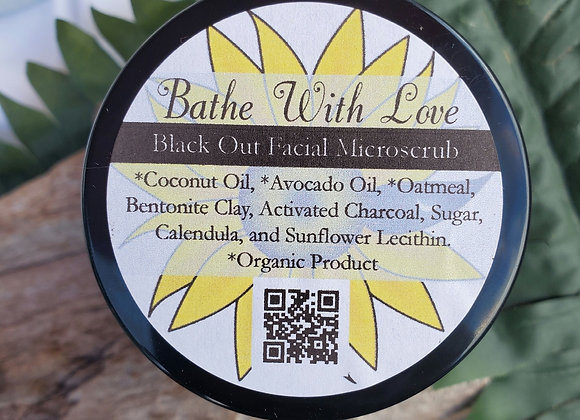 Black Out Facial Microscrub