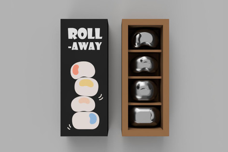 Roll-away Toy