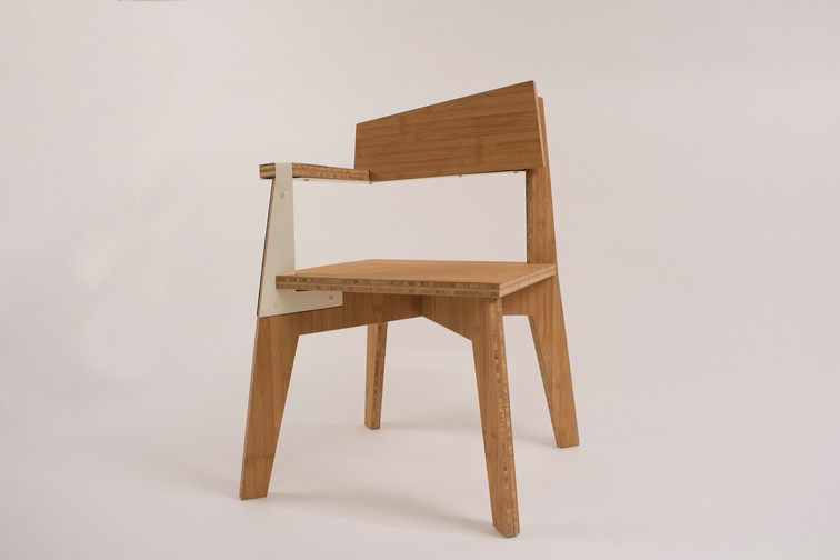 Asymmetrical Chair