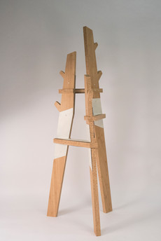 Crossing Coat Rack