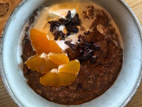 Schokoladen Porridge