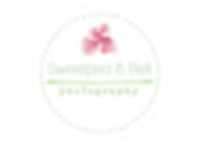 Sweetpea and bell photography logo