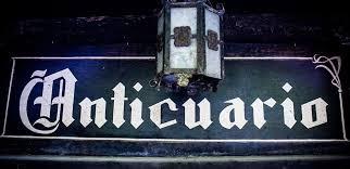 Diccionario subjetivo: Anticuario.