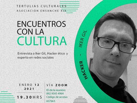 Zoom con Iker Gil, hacker ético.