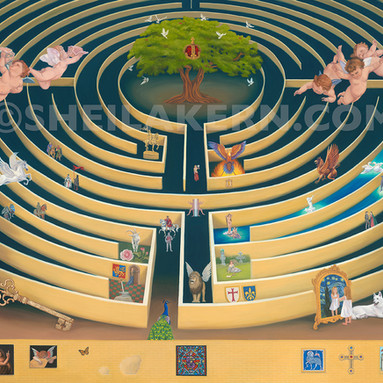 The Labyrinth Painting