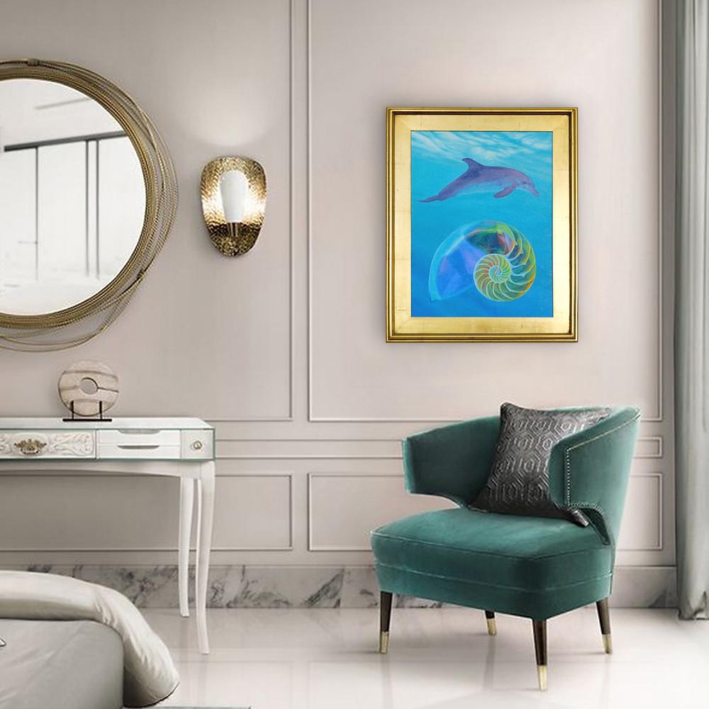 "Original Art ""Floating Harmony"""