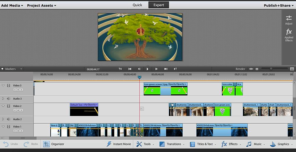 Video editor.