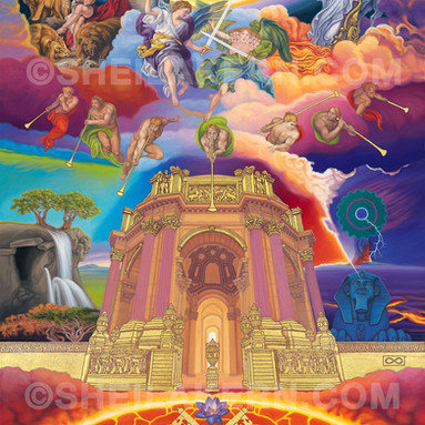 The Glory of God (Returns to the Temple)