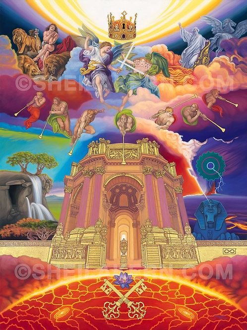 The Glory of God (Returns to the Temple) giclee