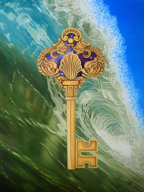 The Key of Sea Card