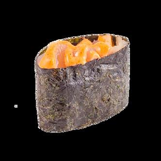 Гункан спайси с лососем/35г