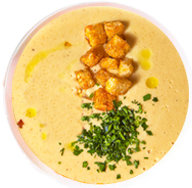 Крем-суп из лосося с креветками /300г