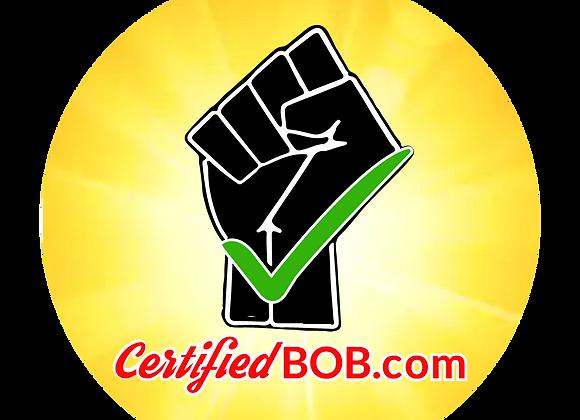 Certified B.O.B