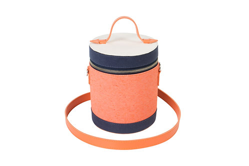Uniform Bucket Bag Tangerina