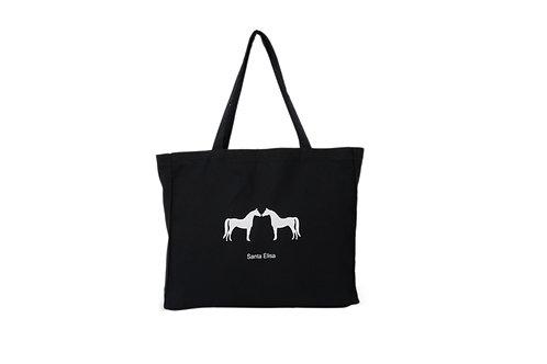 Ecobag Preta Cavalo