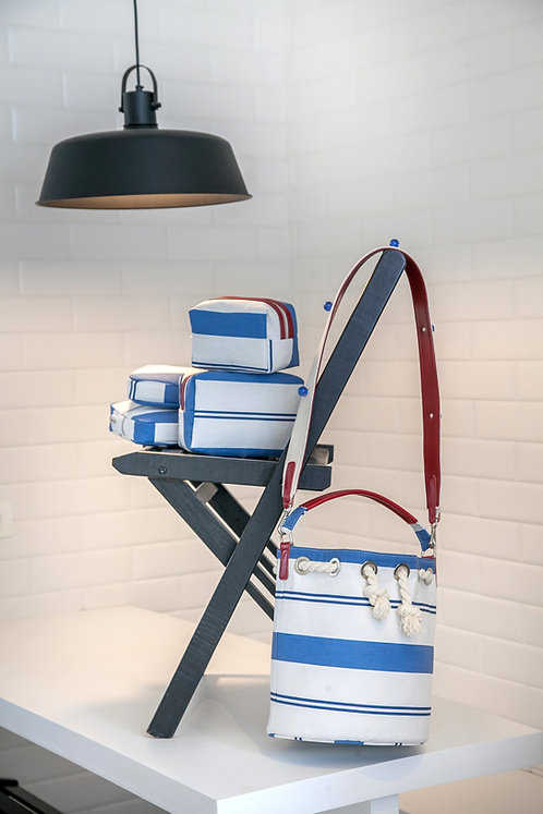Bucket Bag Blue
