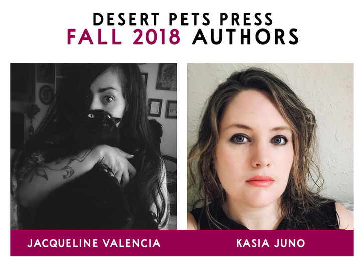 We are proud to announce our Fall 2018 authors!