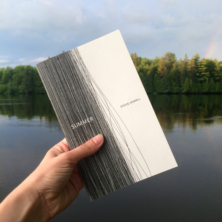 SUMMER by Stevie Howell shortlisted for the bpNichol Chapbook Award!!