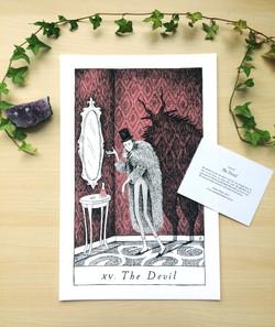 devil print