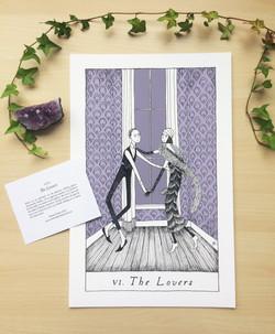 Lovers print