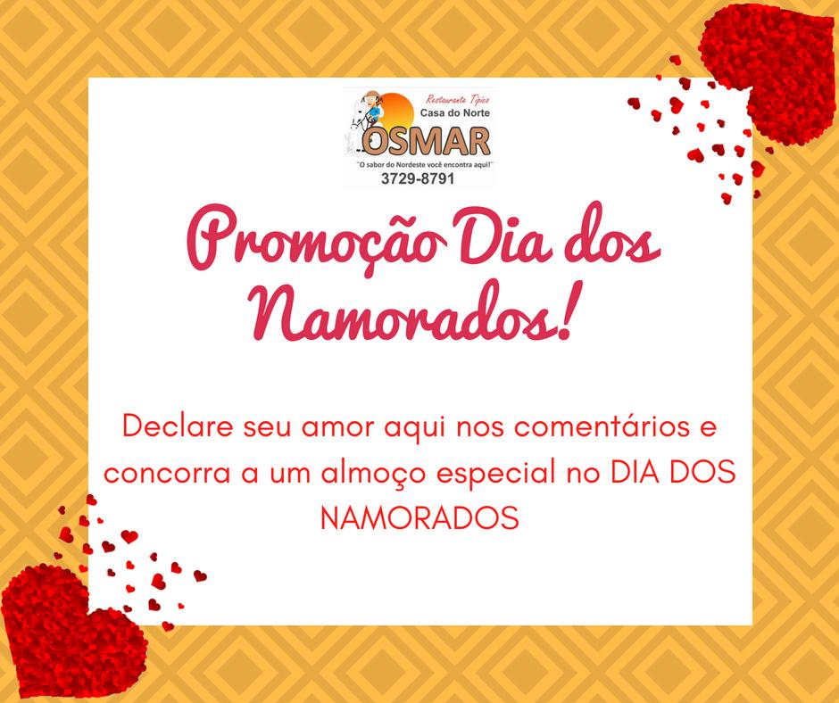 Promoção Dia dos Namorados!