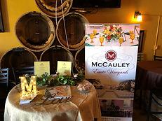McCauley Standing Banner