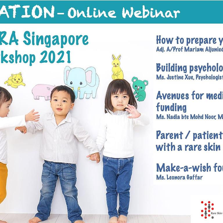 RSCS/DEBRA Singapore Parents' Workshop 2021