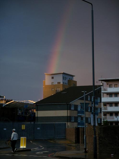 RAINBOW OVER SHADWELL