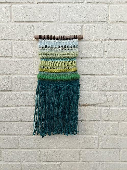 19 Shades of Green Weaving