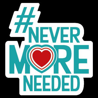 Charities are #NeverMoreNeeded