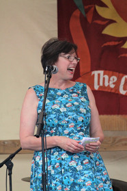 Frances O'Grady, the general secratary of the TUC, speaks at Tolpuddle 2017.