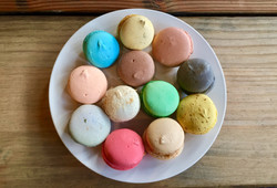 Macarons assortment