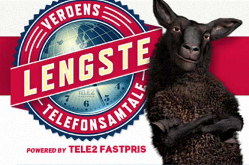 Tele2-Verdens lengste telefonsamtale