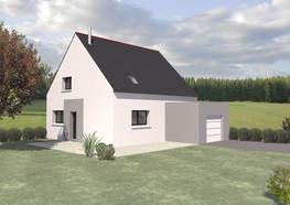 Maison TY-NEVEZ traditionnelle avec garage intégré