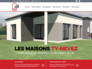 Lancement de notre site internet lesmaisonstynevez.fr
